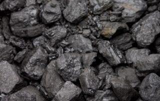 pile of coal